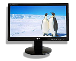 RBD Electronics carries monitors of various sizes