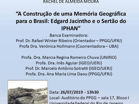 """""""A Construção de uma Memória Geográfica para o Brasil: Edgard Jacintho e o Sertão do IPHAN""""."""