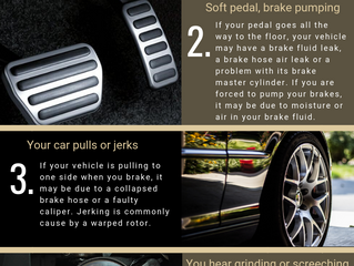 5 Signs You Needs New Brakes