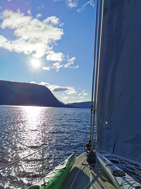 The Coast of Sunnmøre   Jolly Good Times Sailing