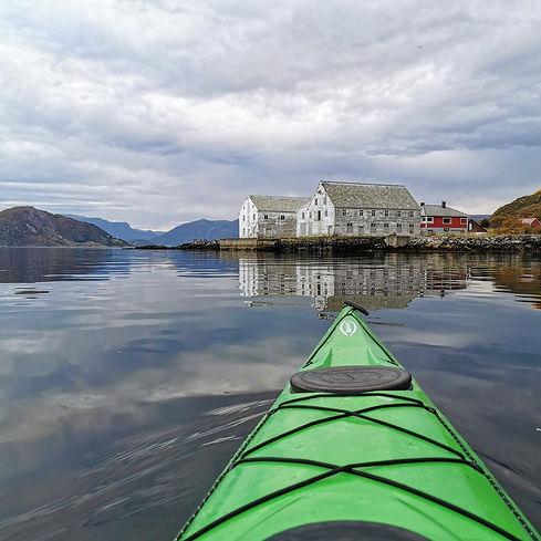 Kayaking in Sansøya | Jolly Good Times Sailing