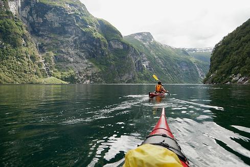 online-Canoeing in Geirangerfjord-Fredri