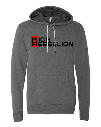 Gray RIch Rebellion Hoodie