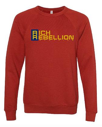 Red RIch Rebellion Crew Neck