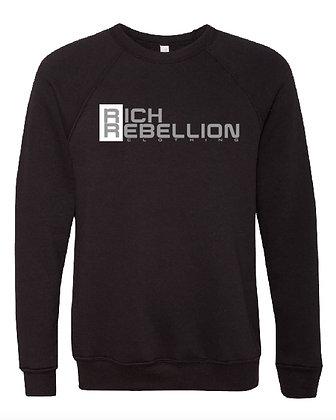 Black RIch Rebellion Crew Neck