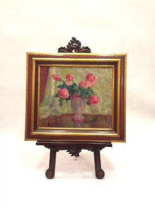 Obraz Róże w wazonie