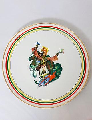 Talerz dekoracyjny z cyklu Tańce polskie