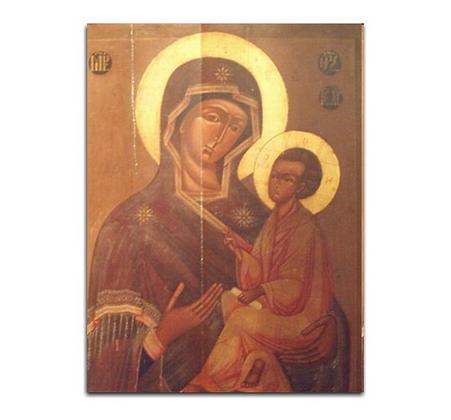 Ikona z Matką Boską