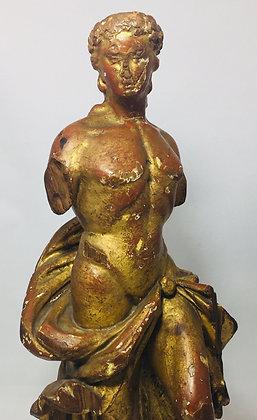 Rzeźba postać młodego mężczyzny