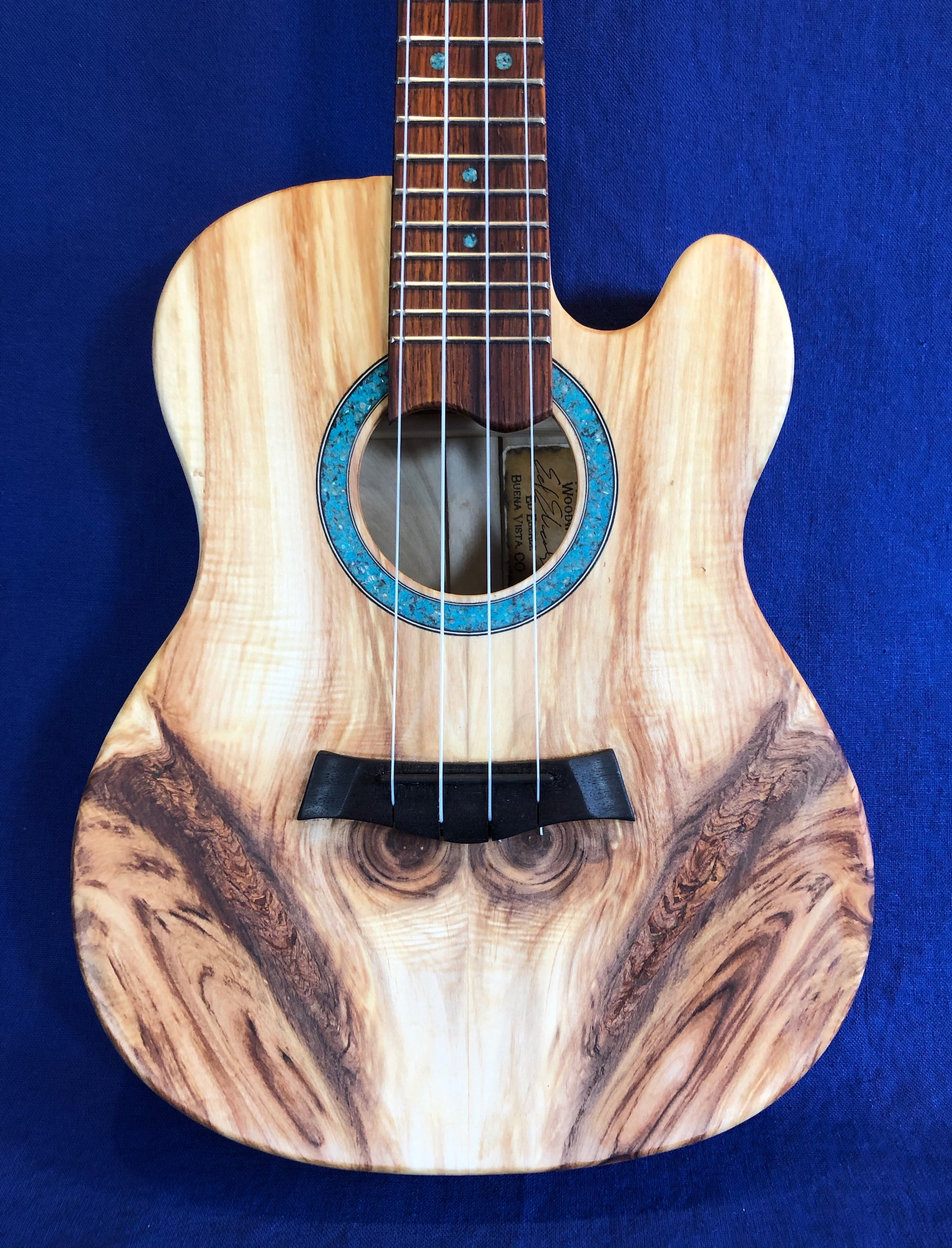 Aspen tenor tele body