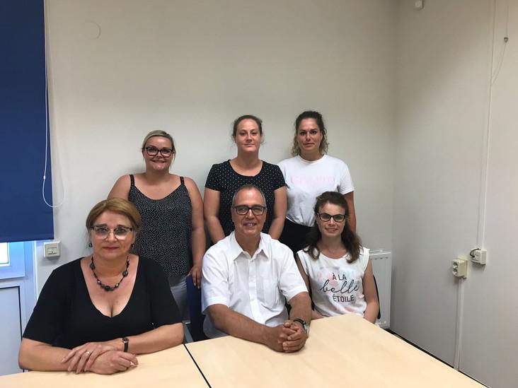 Sociaal Actieve Burgerpartijop werkbezoek bijEnvida.