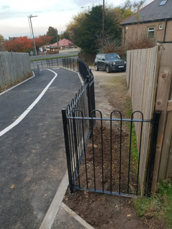 Fencing to Public Footpath