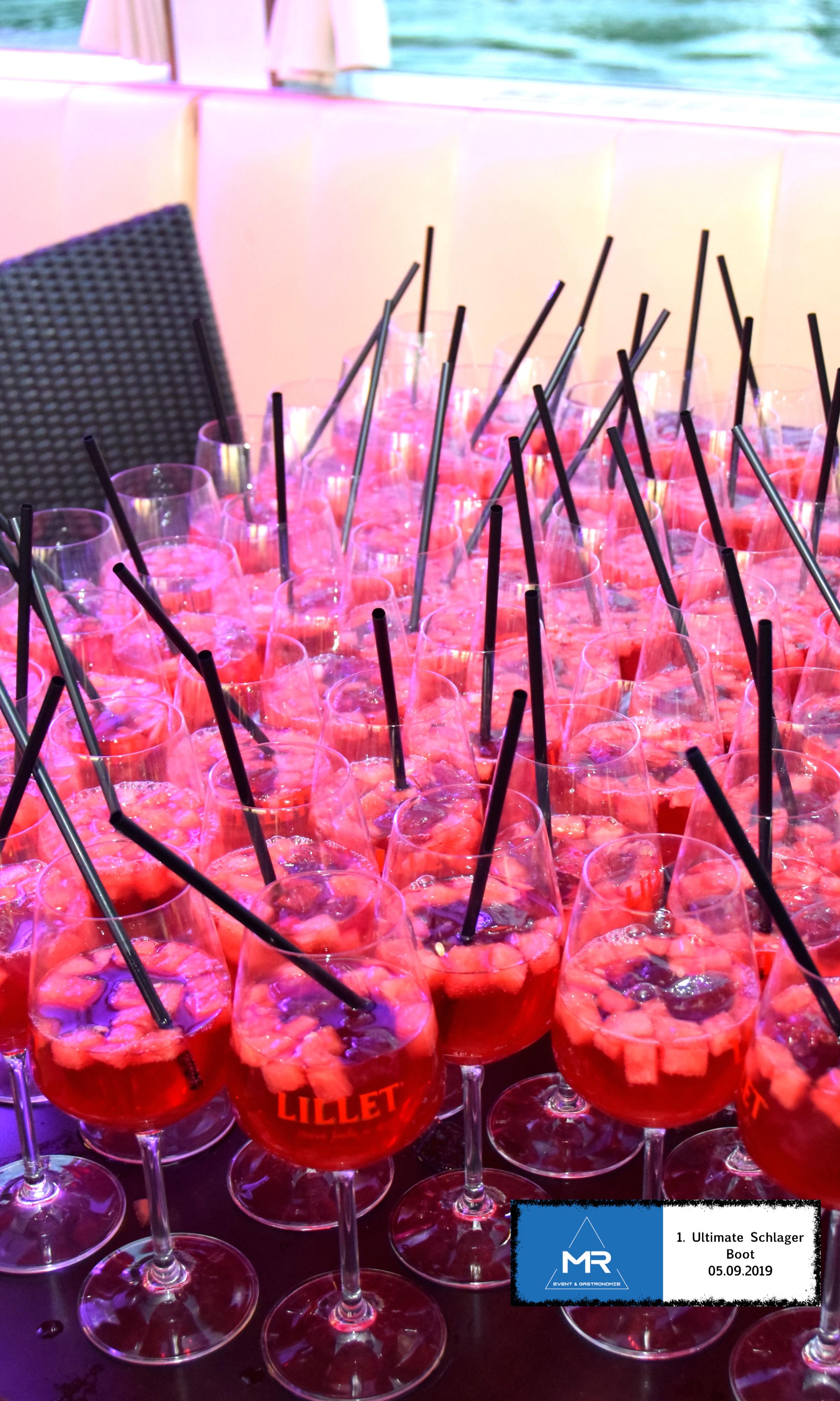 MR Event & Gastronomie Drink Lillet Wassermelone