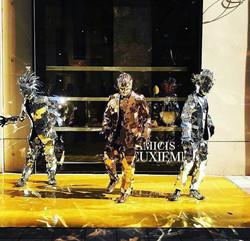Mirror Man Show Dance Industry MR Event.