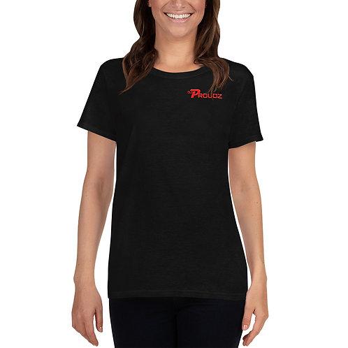DJ Proudz - Damen Short Sleeve T-Shirt
