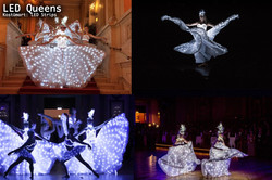 LED Queens Show Dance Industry MR Event.