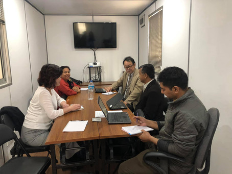 Meeting with Governmental Stakeholders
