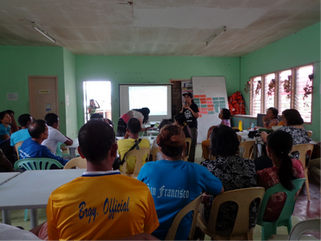Communication Drill Implementation in Regional Evacuation Shelters in the Philippines