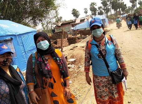 Tornado struck Nepal, EpiNurses contributing to DRR