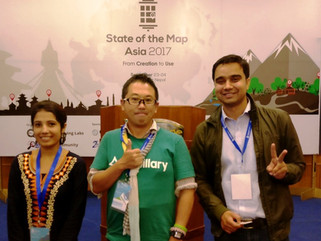 EpiNurse attended State of the Map Asia-2017 conference, hosted byKathmandu Living Labsand OSM Com