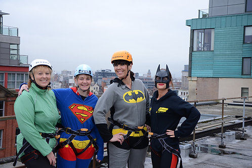 Abseil and Rappel -  Betws Y Coed or Llanberis Snowdonia and UK Charity Events