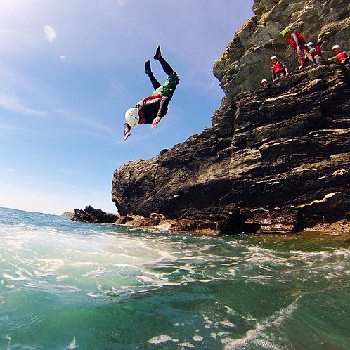 Coasteering Porth Dafarch Half Day Anglesey North Wales