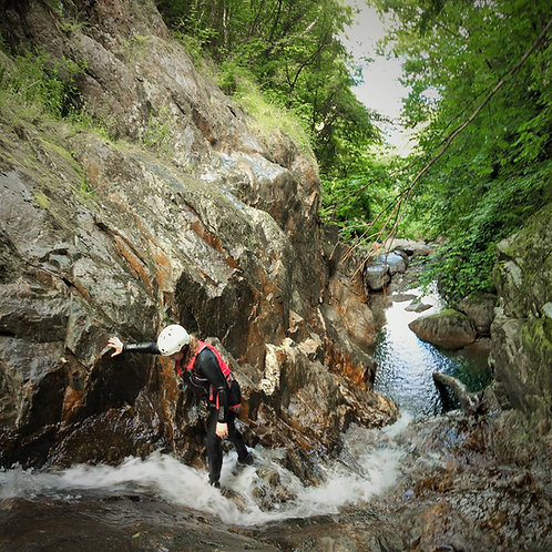 Canyoning Expedition Full Day Nr Betws-y-Coed North Wales