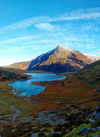 Pen Yr Ole Wen - Cwm Idwal Snowdonia North Wales
