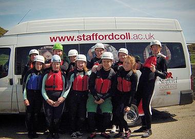 #Coasteering #NorthWales_#StaffordColleg
