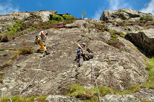 Full Day Single Pitch Rock Climbing - Snowdonia North Wales