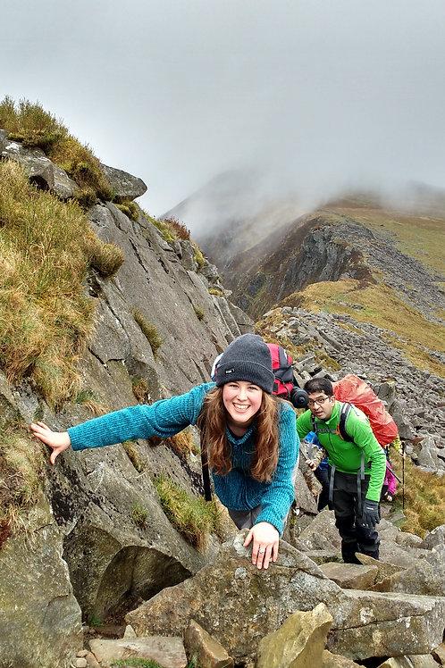 Nantlle Ridge -Rhyd Ddu Snowdonia North Wales