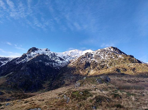 Y Garn - Cwm Idwal Snowdonia North Wales