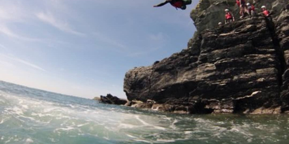 Coasteering Anglesey North Wales