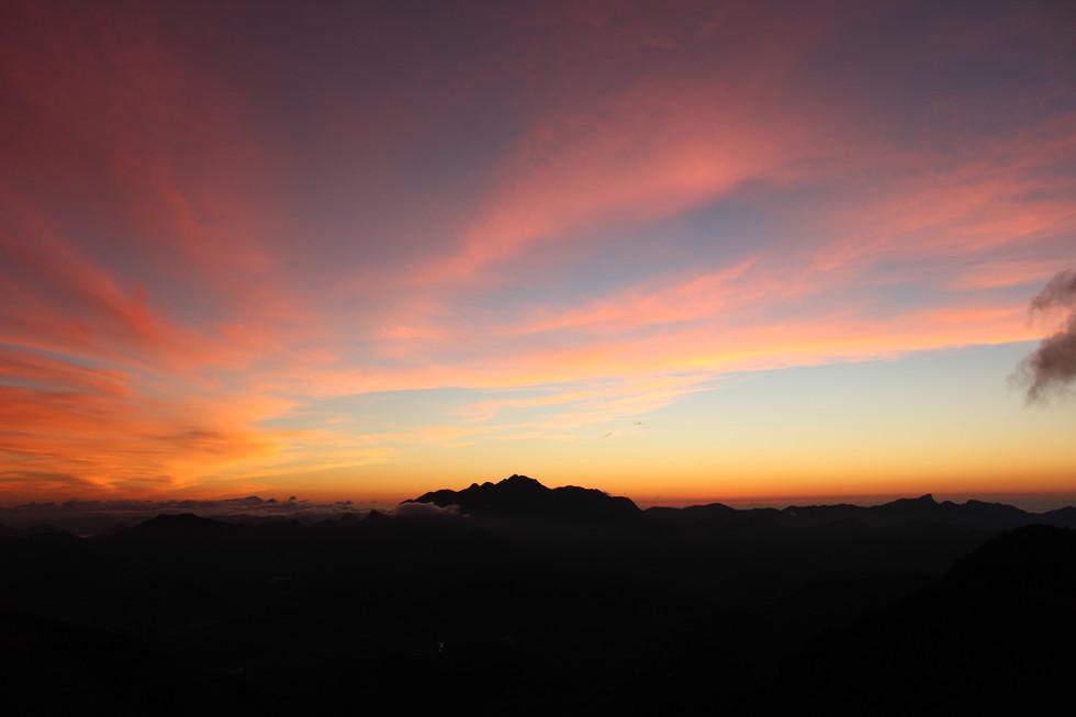 Cores de um amanhecer.