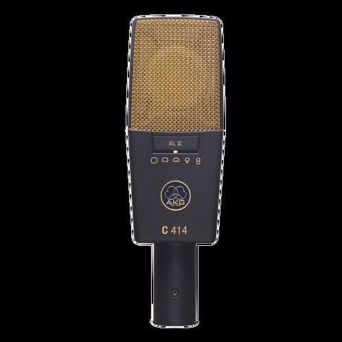 AKG Large diaphragm studio microphone for solo vocals & solo instruments
