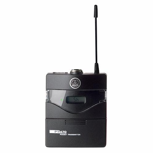 AKG Wireless bodypack transmitter, belt clip, 1x AA LR6 battery
