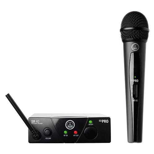 AKG WMS40 Mini Vocal Set BD US45C Wireless Microphone System
