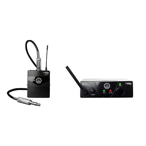 AKG WMS40 MINI Instrumental Set BD US25C | Single Instrument Wireless System