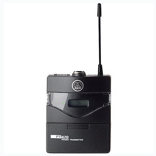 Wireless bodypack transmitter, belt clip,826.300 - 831.000 MHz