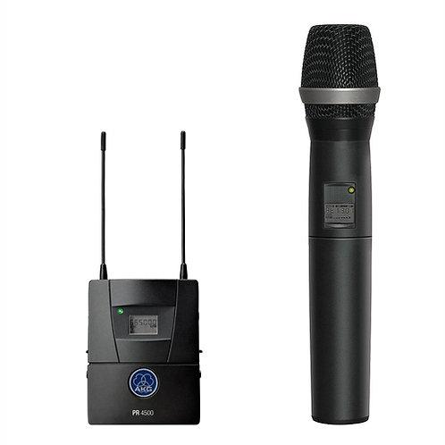 AKG PR4500 HT Set BD4 Wireless News Shooter Set with Microphone