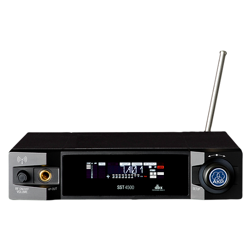 AKG Stereo in-ear monitoring transmitter, patented digital MPX generation