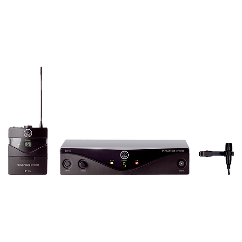 AKG Frequency agile wireless microphone system
