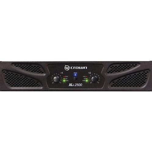 Crown XLi2500 Two-channel - 750W at 4�� Power Amplifier