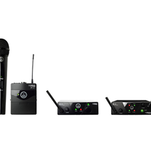 AKG MINI2MIX-US25CD Wireless Handheld and Instrument Combo System