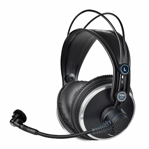 AKG Prof. closed-back headsets derived from K 271 headphones ,condenser mic