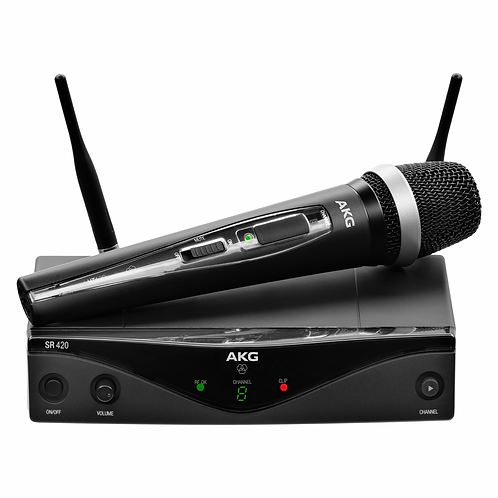 AKG WMS420 VOCAL SET Band A Wireless Microphone System
