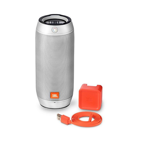 JBL Pulse 2 Portable Splashproof Bluetooth Speaker, SILVER