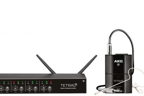 AKG DMS Tetrad Mix Set EU Digital W. System