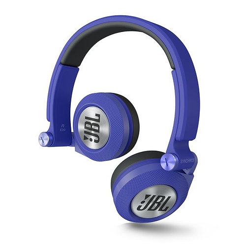JBL E30 Blue High-Performance On-Ear Headphones