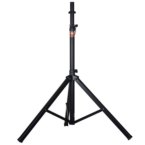 """JBL speaker tripod with manual adjustment from 4' 2"""" to 6' 5"""""""